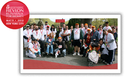 2011 Revlon Run Walk Team Actors Fund