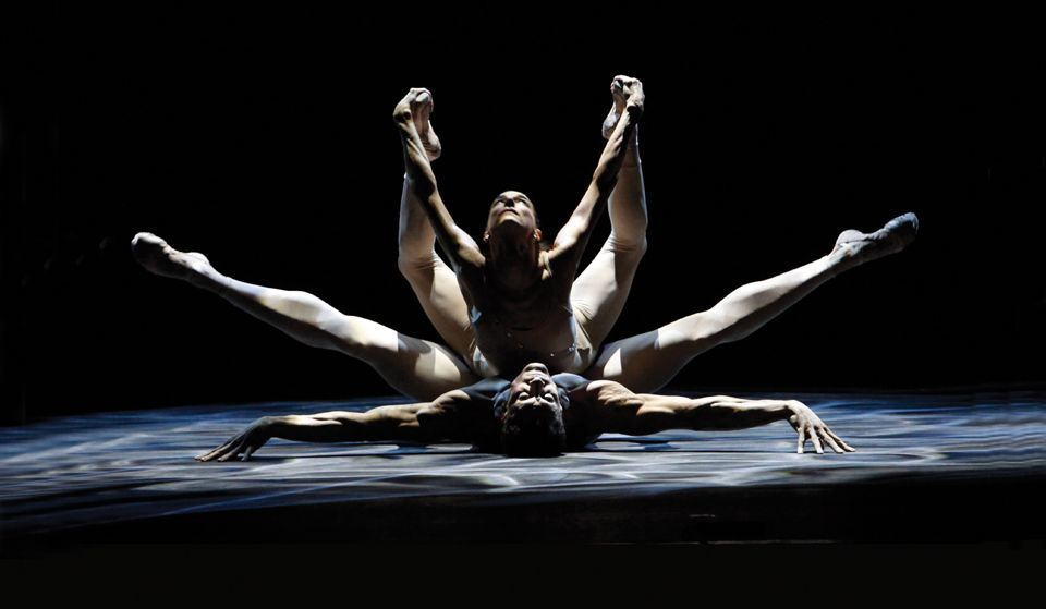 Photo credit: Light Rain duet (excerpt) by The Joffrey Ballet. © 2010 Richard Termine.
